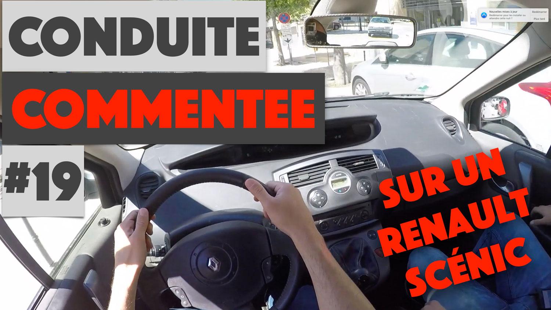 Conduite commentée sur Renault Scénic