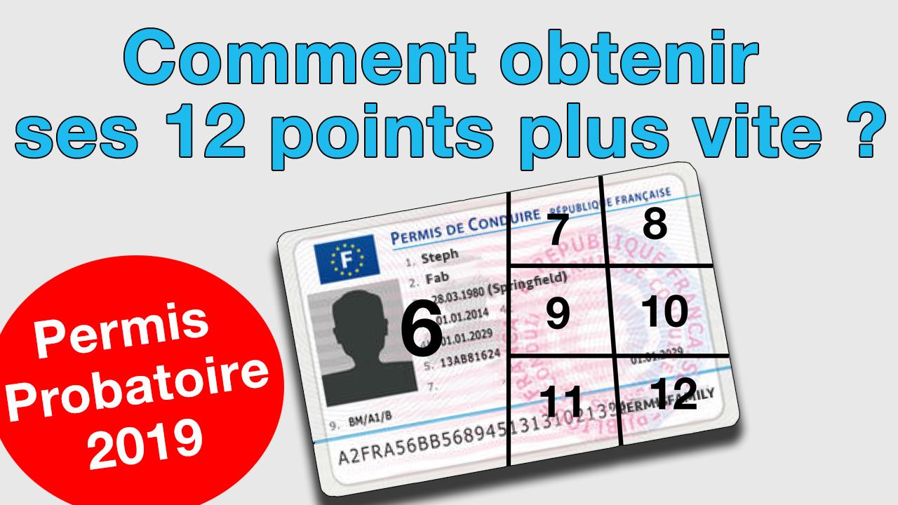 Raccourcir le délai du permis probatoire